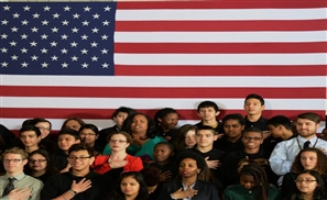 US Goes Crazy After Student Pledges Allegiance in Arabic