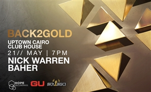 Nick Warren in Cairo For Back2Gold!