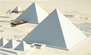 A Virtual Visit to the Pyramids