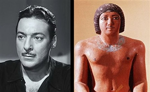 Egyptian Celebrities' Pharaoh Lookalikes