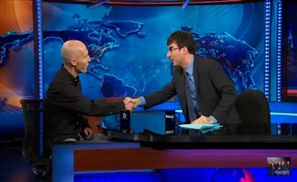 Bradley on The Daily Show