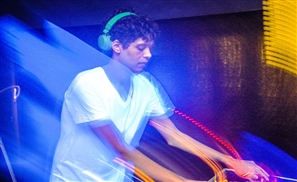 Ahmed Samy Spinning at Cairo Jazz Club