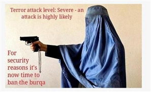 Ban the Burqa Campaign Disgraces Female Cop