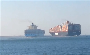 Video: Chaos on the Suez Canal
