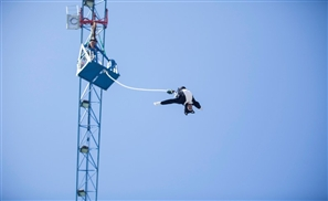 I Went Bungee Jumping in Egypt
