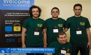 AUC Breaks Record and Named MENA Champs at Programming World Finals