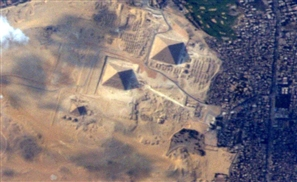 Astronaut Catches Rare Photo Of Pyramids From Space Station