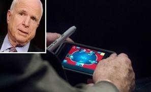 McCain's P-P-Poker Face
