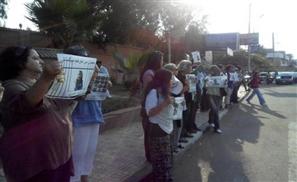 Women Stand In Solidarity with Egyptian Detainees Outside Ittihadeya