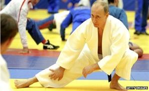 Putin Kicks Chuck Norris' Ass