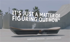 VIDEO: Lexus Unveils New Hoverboard