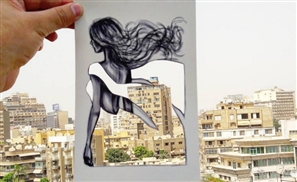 Jordanian Designer Transforms Everyday Cairo Into Dresses!