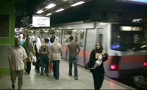Sadat Metro Station Closed