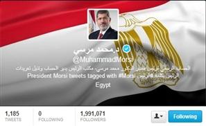 Morsi Tops Twitter Poll