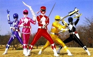 Go, Go Power Rangers!