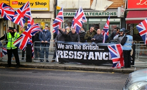 UK Nazis Target MB Office