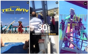 Snapchat Under Fire for Featuring Tel Aviv and Sets Up West Bank Live