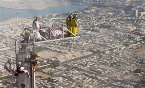 Record Jump off Burj Khalifa