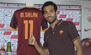Video: Salah Signs With Roma & Scores Goal in Debut