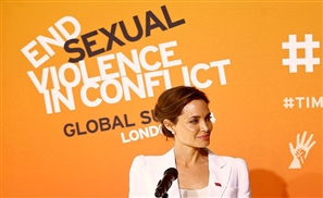 Jolie: End Sexual Violence