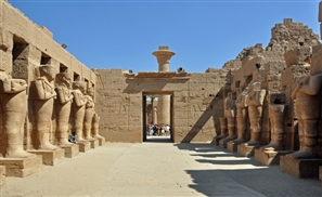 The Catwalk Comes to Karnak