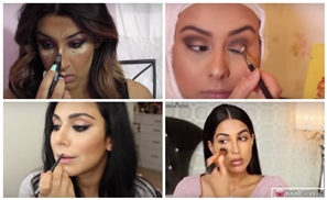 Top 10 Arab Make-Up Tutorial Pros