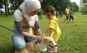 Muslim Organises Dog Petting Event, Death Threats Ensue