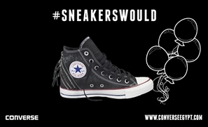 Converse: #SneakersWould Attend The Party!