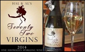 Hal & Al's 72 Virgins Wine Funds Australian Anti-Islam Group