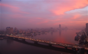 Stunning Skies Hit Cairo