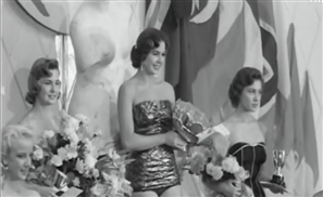 VIDEO: Incredible Footage Of The Egyptian Miss World of 1954