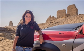 Rally In The Dunes With Egypt's Only Female Racer, Yara Shalaby