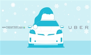 Santa Claus Is Coming To Town - In An Uber!