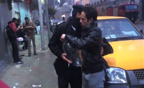 Video: Prank Backfires After Two Egyptian Youth Hand Out Condom Balloons To Police in Tahrir