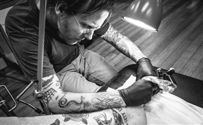 Renowned Tattoo Artist Brody Polinsky Comes To Cairo