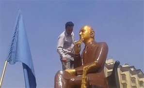 Mohamed Abdel Wahab Statue Now Looks Like A Nutella-Covered Hosni Mubarak