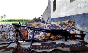 Groom-To-Be Accidentally Shoots Himself With Machine Gun