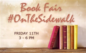 Book Fair #OnTheSidewalk This Weekend