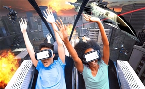 Virtual Reality Roller Coasters Are Now Officially A Thing
