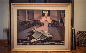 Circles In The Sand: Saad el Din's Stunning Paintings Depict A Shadowy Egypt