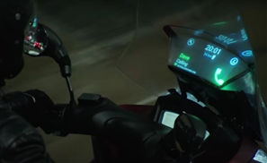 VIDEO: Check Out Samsung's New Smart Windshield For Motorcycles