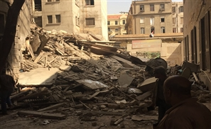 Building Collapses In Downtown Cairo Causing School Closure