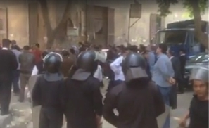 Breaking: Video Emerges Showing State Security Demolishing The Townhouse Gallery