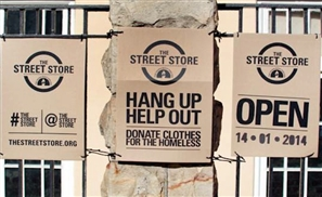 The Street Store Egypt: Clothing the Homeless