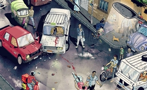 Cartoon Depicting The Raw Realities of Cairo Goes Viral