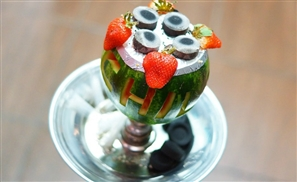 Shisha Made Entirely Out of Fruit? Challenge Accepted
