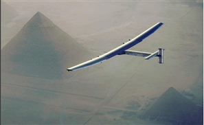 Gorgeous Photos of the Amazing Zero-Fuel Aircraft Solar Impulse 2 Over Cairo