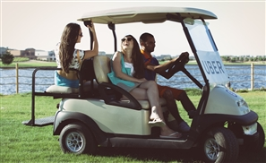 UberCART's New Golf Carts Will Ensure You Get Fancy For Marassi