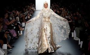 Muslim Designer Makes History With Stunning Hijab Collection at New York Fashion Week