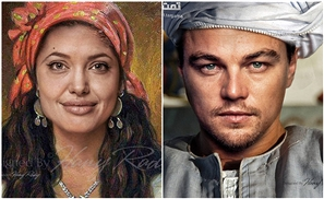 If Angelina Jolie Was S3eedi: 11 Hollywood Celebrities Photoshopped as Upper Egyptians
